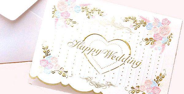 一言で伝える結婚式のメッセージカード例文☆おススメ9選!!