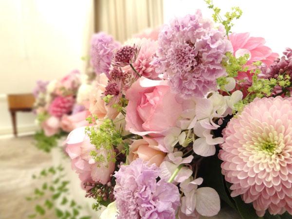 梨花の結婚式を参考に…テーブル装花を超素敵にする7つのコツ☆