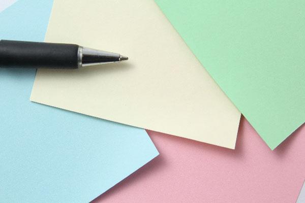 結婚式の寄せ書きに選ぶ、色紙のデザイン7つのポイント
