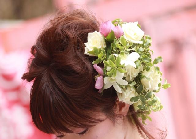 結婚式の髪型☆ミディアムを華やかにする5つのアレンジ