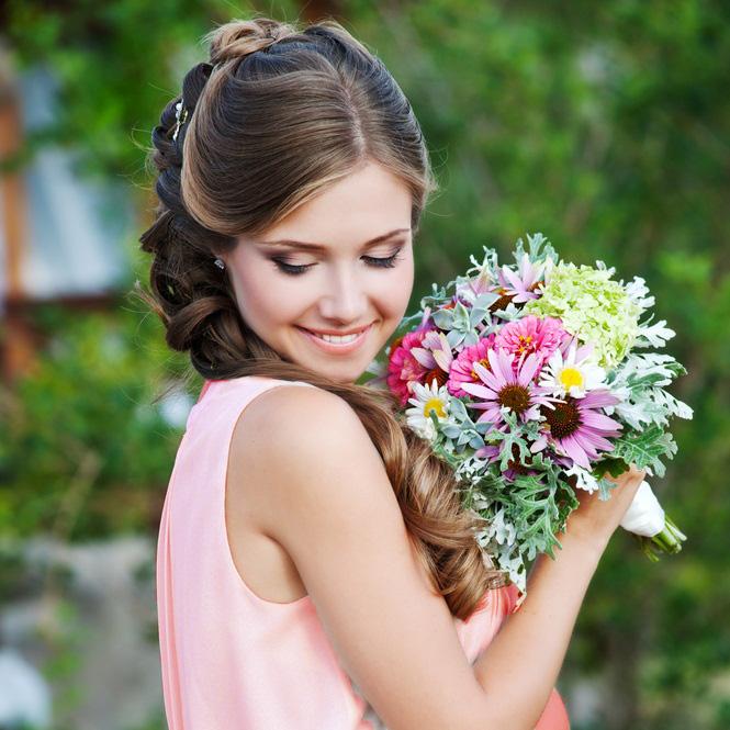 結婚式の髪型☆ロングスタイルを華やかにするポイント