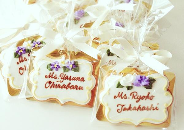 結婚式の席札を可愛く☆おしゃれな7つのアイデア