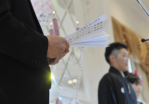 結婚式のスピーチ☆新郎父親によるゲストが感動する謝辞集