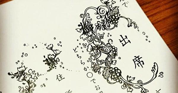 結婚式の招待状にメッセージを☆返信に添えたい文例集