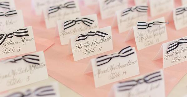 結婚式席札メッセージ☆ゲストに伝える感謝、7つの言葉