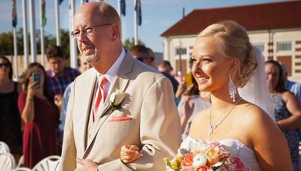 結婚式を感動で包む花嫁の手紙!厳選文例3選