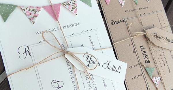 結婚式の招待状☆手作りでアットホーム、配慮あるアイデア