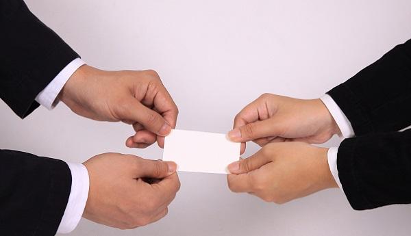 印象が必ず良くなる名刺の受け取り方!5つのアプローチ